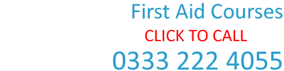 First Aid Courses - 0333 222 4055